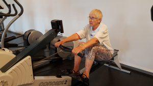 Grete til fittnes i Skærbæk Motionscenter